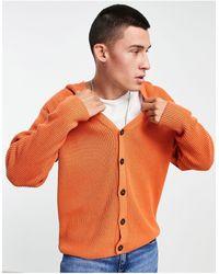 TOPMAN Gilet oversize en maille - Orange