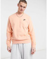 Nike Revival - Sweater Met Ronde Hals - Roze
