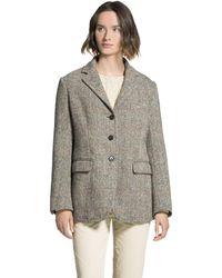Aspesi Shetland Wool Blazer - Multicolour
