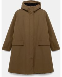 Aspesi Cappuccino Coat - Multicolour