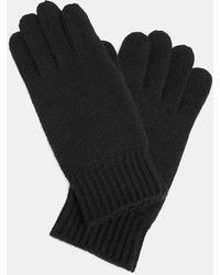 Aspesi Cashmere Gloves - Black