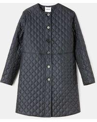 Aspesi Coats & Raincoats - Nylon Overcoat Black 100% Nylon S