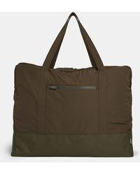 Aspesi Large Bag In Taffeta - Multicolour