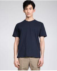 Aspesi - Cotton T-shirt - Lyst