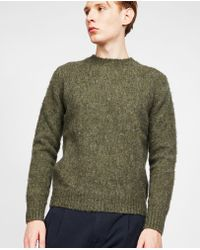 Aspesi - Loose Fitted Sweater - Lyst