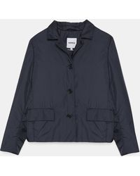 Aspesi Jackets - Purè Jacket Navy 100% Nylon L - Blue