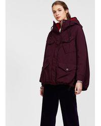 Aspesi - Garment Dyed Nylon Hooded Parka Sorbole - Lyst