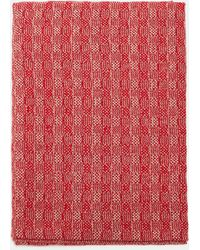 Aspesi Scarves & Silk Scarves - Pure Cashmere Scarf Colonial Beige/red 100% Cashmere One Size