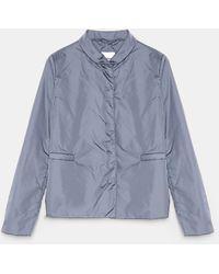 Aspesi Jackets - Mostarda Jacket Gray 100% Nylon Xxs