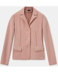 Aspesi Jacke aus gekochter wolle - Pink