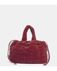 Aspesi Bags & Backpacks - Quilted Nylon Bag Burgundy 83% Cotton 17% Modal One Size - Red