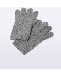 Aspesi Cashmere Gloves - Grey