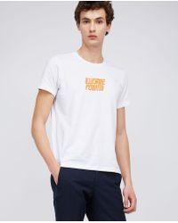 Aspesi - Pure Cotton T-shirt Illusione Perduta - Lyst