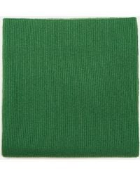 Aspesi Scarves & Silk Scarves - Wool Snood Green 100% Cashmere One Size