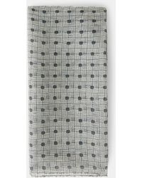 Aspesi Tuch aus bedrucktem chiffon - Mehrfarbig