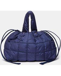 Aspesi Quilted Nylon Bag - Blue