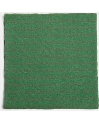 Aspesi Scarves & Silk Scarves - Pure Cashmere Scarf Green/khaki Green 100% Cashmere One Size