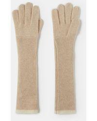Aspesi Handschuhe aus kaschmir - Gelb