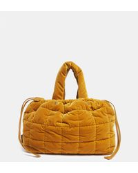 Aspesi Bags & Backpacks - Quilted Nylon Bag Ochre 83% Cotton 17% Modal One Size - Multicolour