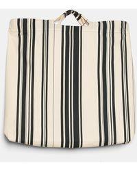 Aspesi Bag In Printed Poplin - Multicolour