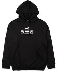 Butter Goods Compositions Embroidered Hoodie - Schwarz