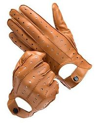 Aspinal - Leather Driving Gloves - Lyst