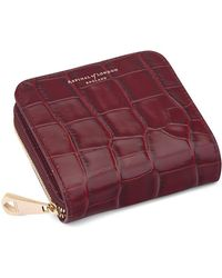 6c251859a475 Aspinal of London - Mini Continental Zipped Coin Purse - Lyst