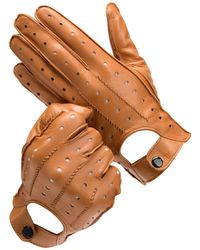 Aspinal of London Leather Gloves - Brown