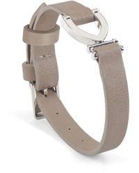 Aspinal of London Stirrup Bracelet - Metallic