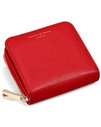 Aspinal of London - Mini Continental Zipped Coin Purse - Lyst