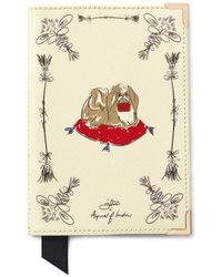 Aspinal of London Guard Girls Passport Cover - White