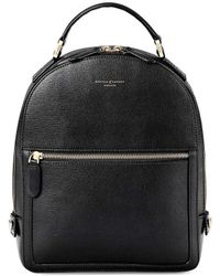 Aspinal of London - Ladies Versatile Small Mount Street Backpack - Lyst