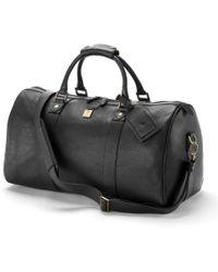 Aspinal of London Boston Bag - Black