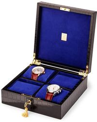 Aspinal - Square Four Watch Box - Lyst