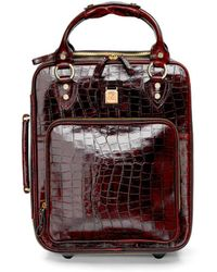 Aspinal of London Candy Case - Brown