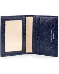 Aspinal of London - Handmade Id & Travel Card Case - Lyst