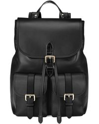 Aspinal of London The Oxford Backpack - Black