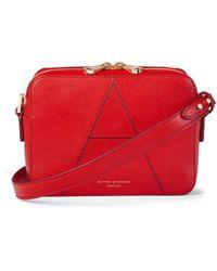 Aspinal of London Camera 'a' Bag - Red