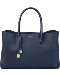 Aspinal of London London Tote - Blue