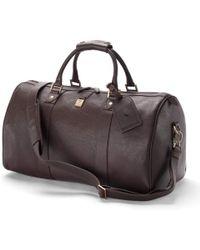 Aspinal of London Boston Bag - Brown