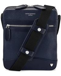 Aspinal - The Anderson Midi Messenger Bag - Lyst