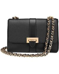 Aspinal of London Small Lottie Bag - Black