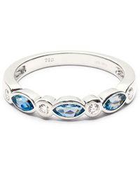 Aspinal of London Selene Ring - Metallic