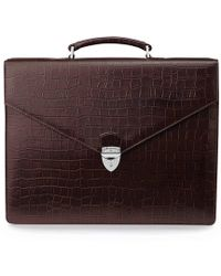 Aspinal - Executive Briefcase - Lyst