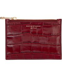 Aspinal - Essential Leather Small Pouch - Lyst