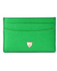 Aspinal of London - Slim Credit Card Holder - Lyst