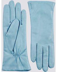 Hestra Leather Elisabeth Glove - Blue