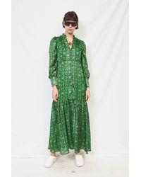 Birgitte Herskind Green Snake Miley Dress