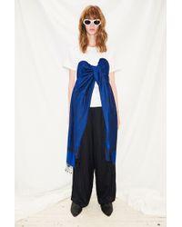 Collina Strada - Pashmina T-shirt - Blue - Lyst