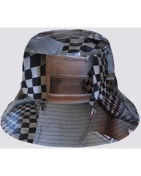 Clyde Maya Beaudry Check Ebi Bucket Hat - Multicolour